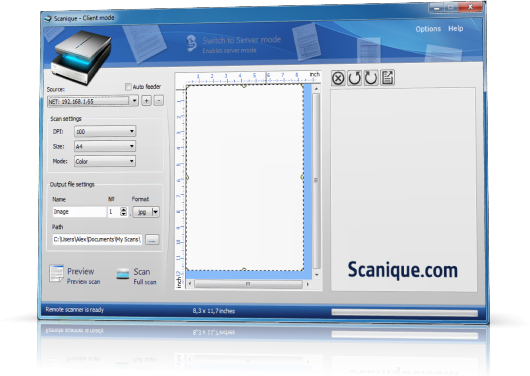 Scanique screenshot